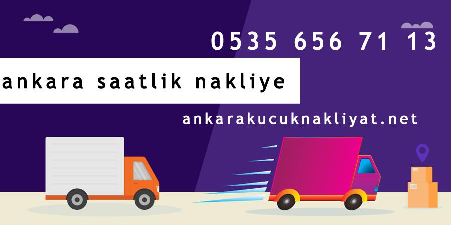 Ankara saatlik nakliye