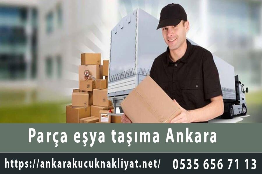 Parça eşya taşıma Ankara