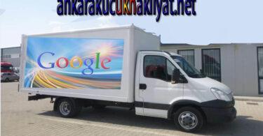 Çukurambar küçük ve saatlik nakliye kamyonet kiralama
