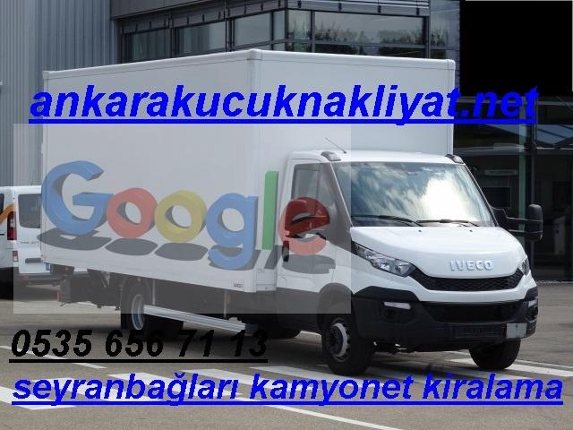 seyranbagları kamyonet kiralama aracı