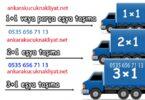 Ankara küçük nakliye saatlik kamyonet kiralama