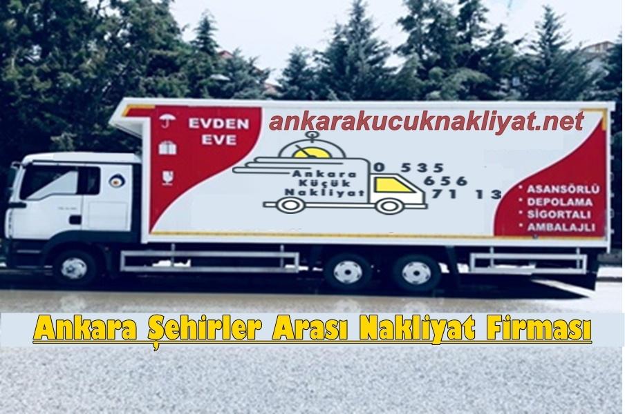 Ankara Şehirler Arası Nakliyat Firması